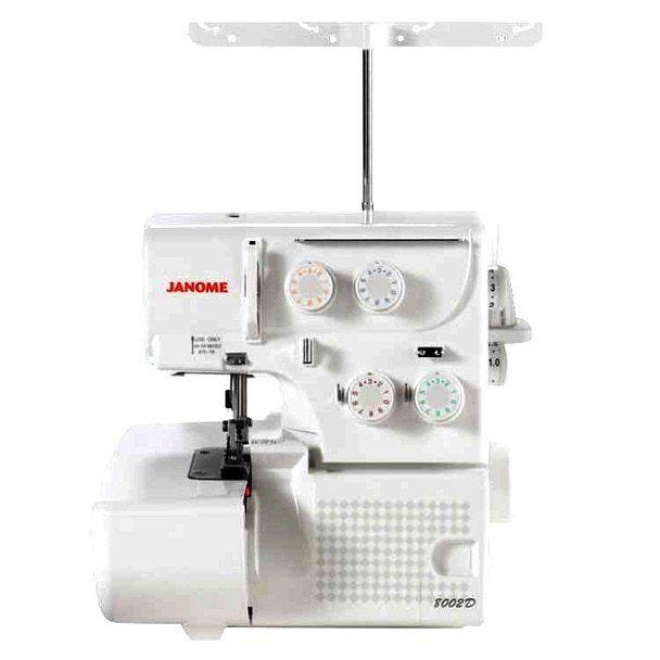 Janome 8002D Overlock Serger Machine with Bonus Bundle