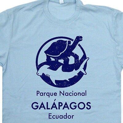 Galapagos Islands T Shirt Charles Darwin Scuba Diving Science Evolution Turtle