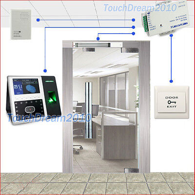 Biometric Face Recognitionfingerprint Access Control Terminalmagnetic Lockpsu