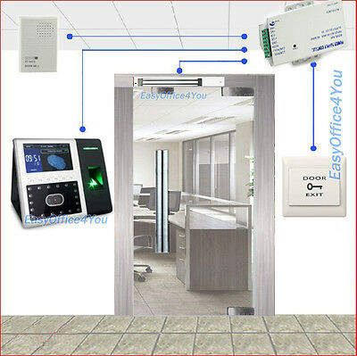 Zksoftware Face302 Facefingerprint Multi-biometric Access Control Kitsmag Lock