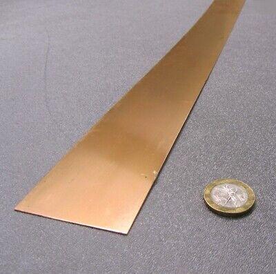 510 Phosphor Bronze Bar .020 -.004thick X 2.0 Wide X 48.0 Length 1 Pcs