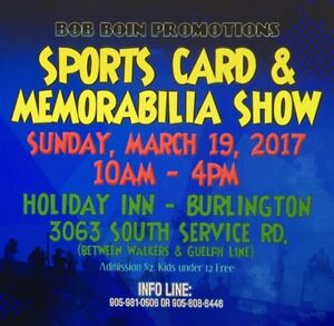 Sports Card & Memorabilia Show - Burlington