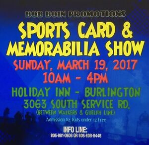 Sports Card & Memorabilia Show - tables selling fast BOOK NOW!