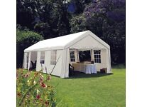 9X4m Marquee for Hire - Perfect for summer parties and celebrations w/ assembly or self-assembled