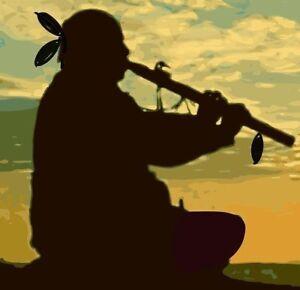 NATIVE INDIAN FLUTE MUSIC CD RELAXATION REIKI YOGA MEDITATION STRESS RELEIF 082b