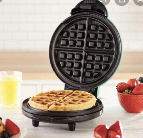 yes 8 express personal waffle maker yellow