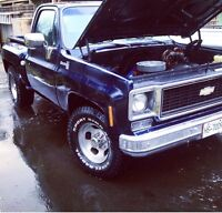 1978 Chevy Stepside Price Drop for Quick sell