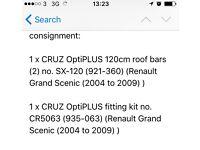 Renault Grande Scenic (2004-2009) roof bars