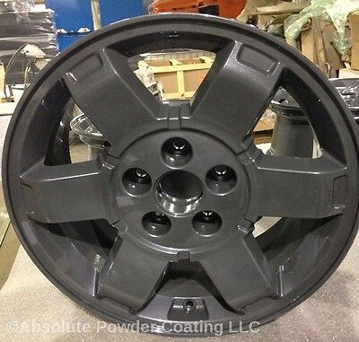 Black Chrome And Clear Powder Coating Paint Package Deal