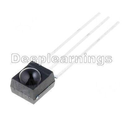 5 Pcs 38 Khz Remote Tsop4838 Dip-3 Ir Receiver Infrared Radiation Module