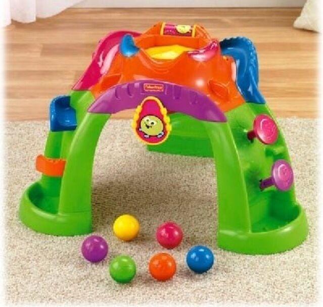 Baby toys ballcano ball popper