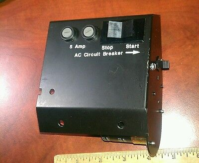 Remote Start Switch Panel Onan Genset 5 Amp Fused Relay 25 Amp Breaker New