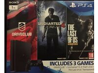 Drive club uncharted 4 last of us remastered games