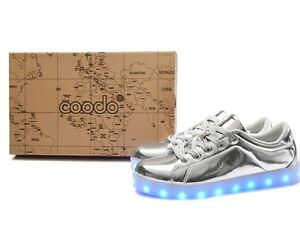 COODO Shiney LED Shoes (BRAND NEW)
