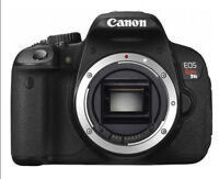 Canon Rebel T4i  includes  18-135mm Zoom lens