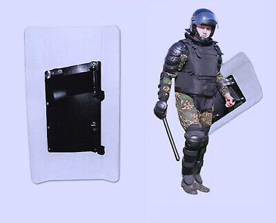 Russian Omon Police Anti-riot Shockproof Transparent Shield