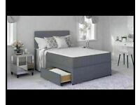 ⭐🆕HUGE SALE LUXURY DIVAN BED BASES IN ALL SIZES & COLORS READY GRAB ONE TILL STOCK LAST