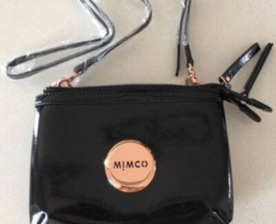 Mimco secret couch bag rose gold