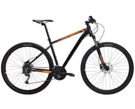 Brand New Mountain Bike MTB Swedish Quality Crescent Njord Black Or Green Shimano Factory Boxed