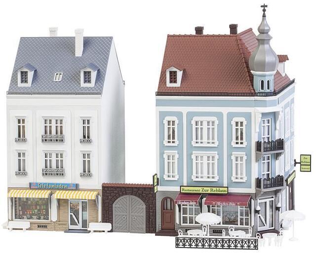 Faller H0 130703 Zwei Stadthäuser Beethovenstraße #NEU in OVP##