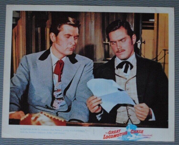Disney - The Great Locomotive Chase (1956) Original Lobby Card #2