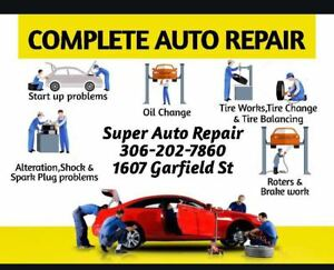 Auto Repair, Mechanic, Tire Change, Brake, Oil Change, Car