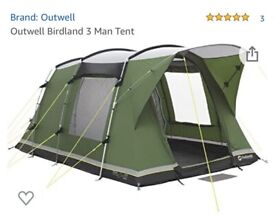 *SOLD* Outwell Tent - Birdland 3