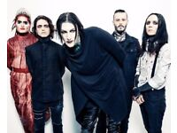 2 Motionless in White tickets, The Waterfront Norwich, Sun 28th Jan
