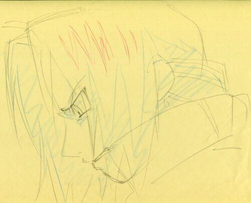 Anime Cel FULLMETAL ALCHEMIST Genga Sketch Edward Elric