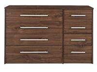 Kendal Chest of Drawers (walnut effect)