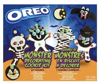 OREO Halloween Monster Cookie Decorating Kit Free Priority Shipping!
