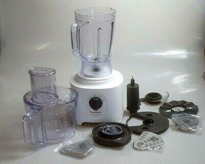 Küchenmaschine Standmixer All in One 6 Zubehörteile Moulinex FP2461 Easy Force