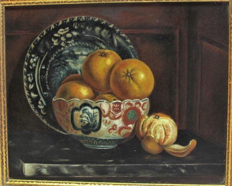 Fine American Still Life Oil Painting  Attr. To John F. Peto  C. 1880 Antique