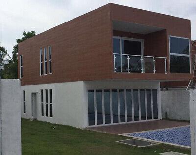 Modern Steel Frame Concrete Panels Pre-fabricated Modular Home