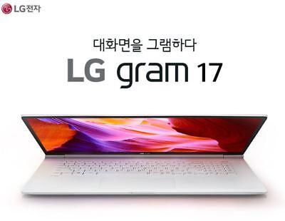 New LG Laptop 17Z990-VA76K i7-8565U 1.8GHz 16GB/512GB WQXGA Windows 10 Notebook