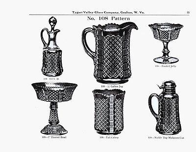 Tygart Valley Glass Co. catalog reprint-EAPG-McKee, - Co Catalog