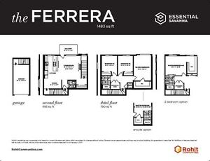 END UNIT...3 BEDS, 2.5 BATHS...1483 SQ FT...ONLY $644 BI-WEEKLY!