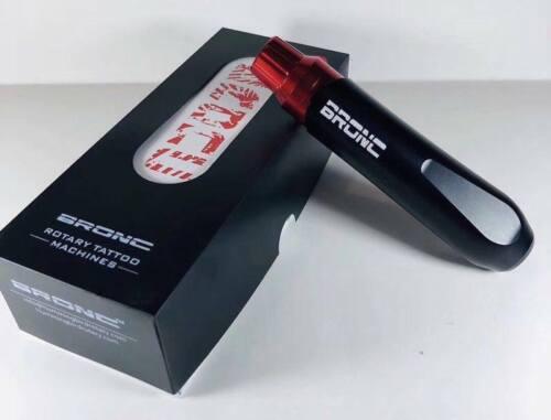 RED HUMMINGBIRD BRONC V6 Cartridge Tattoo Pen Machine Ships fast from AZ