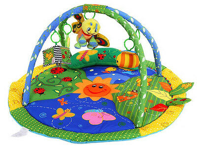Baby Light & Musical Garden Bugs Adventure Gym Activity Playmat Play Mat Toy