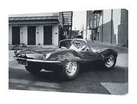 Time Life - Steve Mcqueen Jaguar - 60 X 80cm Canvas Print Wall Art Wdc90399 - jaguar - ebay.co.uk