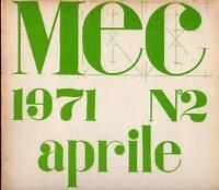 Mec. Rivista Di Comunicazioni Visive E Accertamenti Poetici - 2 (aprile 1971) -  - ebay.it