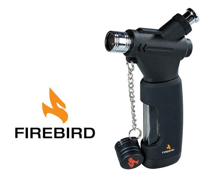 Firebird Colibri Hookah Cigar Lighter Black Single Jet Butan