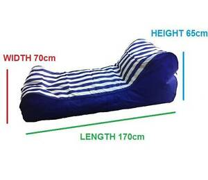 Lanii Indoor Outdoor Bean Bag/Day Bed Chair Lounger Quality Kings Park Blacktown Area Preview