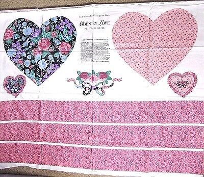 Crafting Store (Hearts 'Country Love' Pillow Cotton Craft Panel,Springs Inds,Old Country)