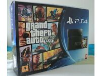 PS4 Console and GTA 5 Game Playstation 4