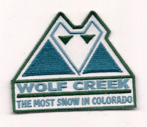 Wolf Creek Colorado Souvenir Patch