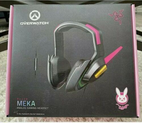 Analog Gaming Exclusive Overwatch Edition Razer D.Va Meka Headset RZ04-02400100-R3M1