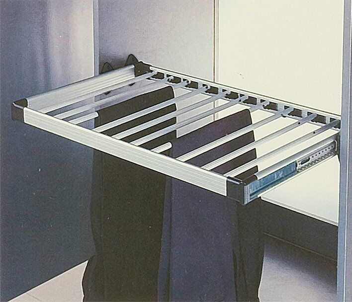 Wardrobe Pull Out Trouser Rack