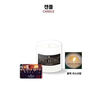 Twice Fan Meeting Once Begins Official Goods Candle   Photocard New