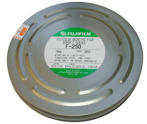 Fujifilm Negative Film F-250 16mm x 800 Ft.(x 2)  8652 Process ECN-2